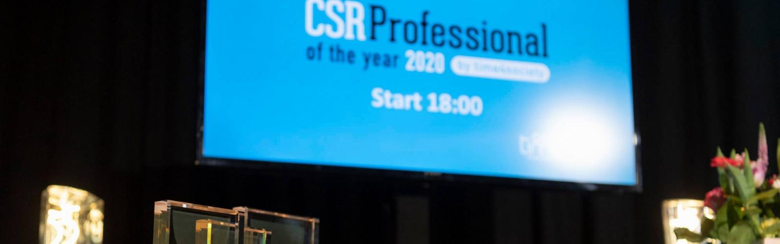 startbeeld CSR Professional of the Year