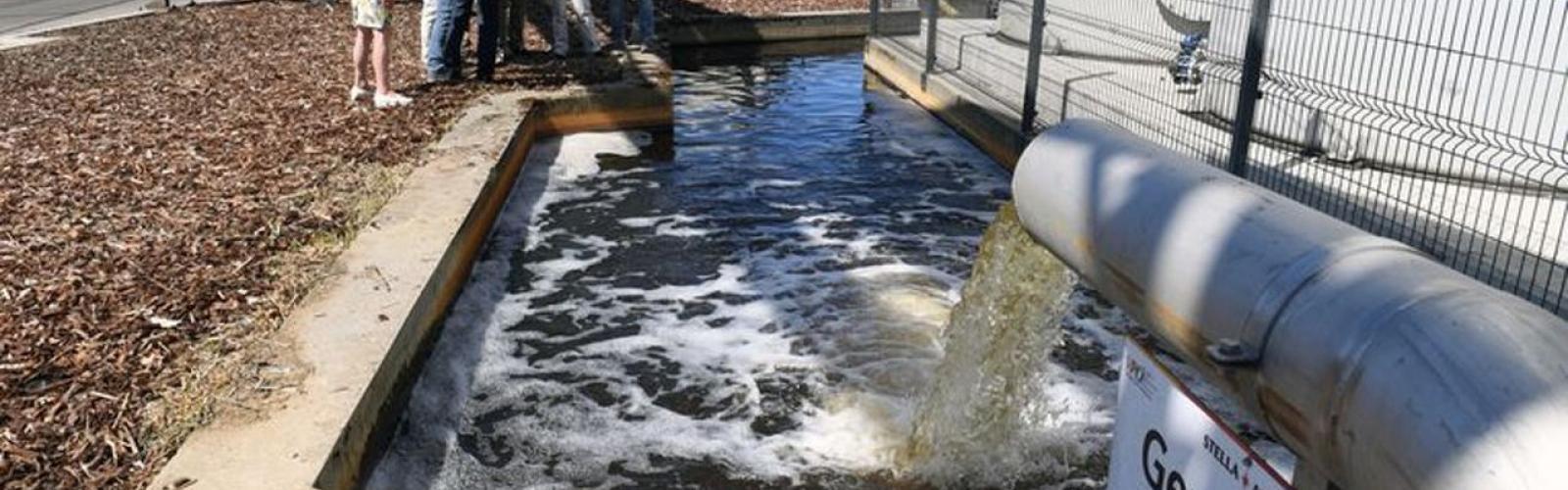 waterzuiveringsstation AB Inbev