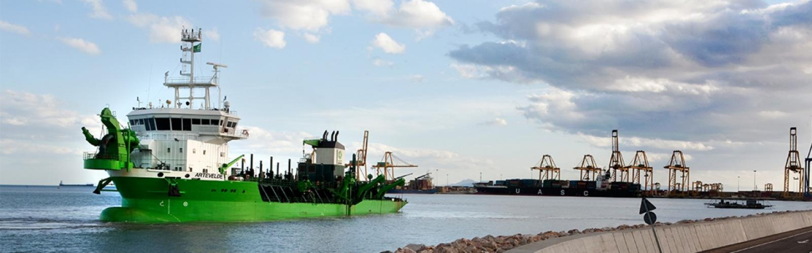 baggerboot Artevelde