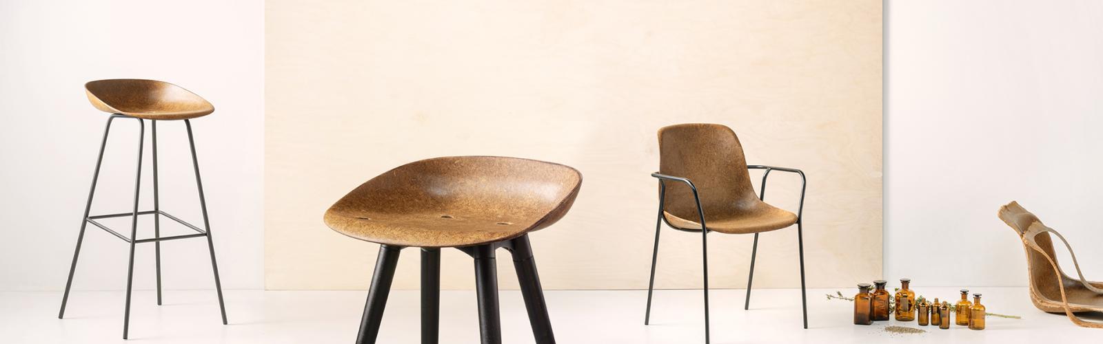 HEMP-stoelen van VEPA