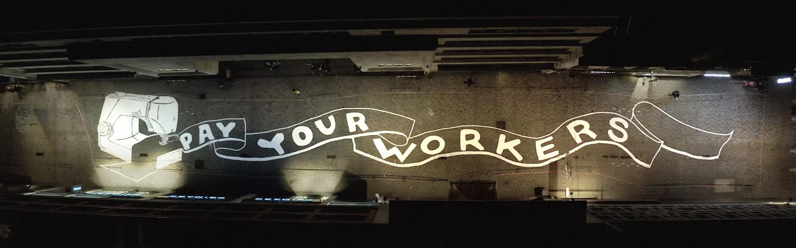 fresco 'Pay your workers'