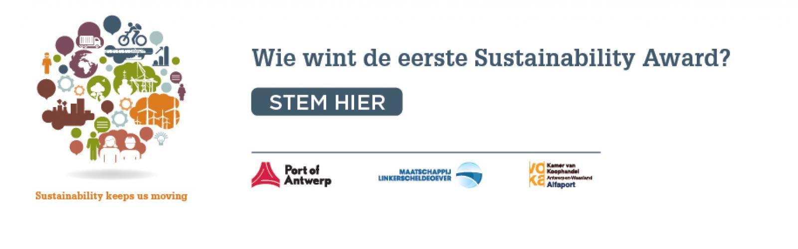 Sustainability Award haven van Antwerpen