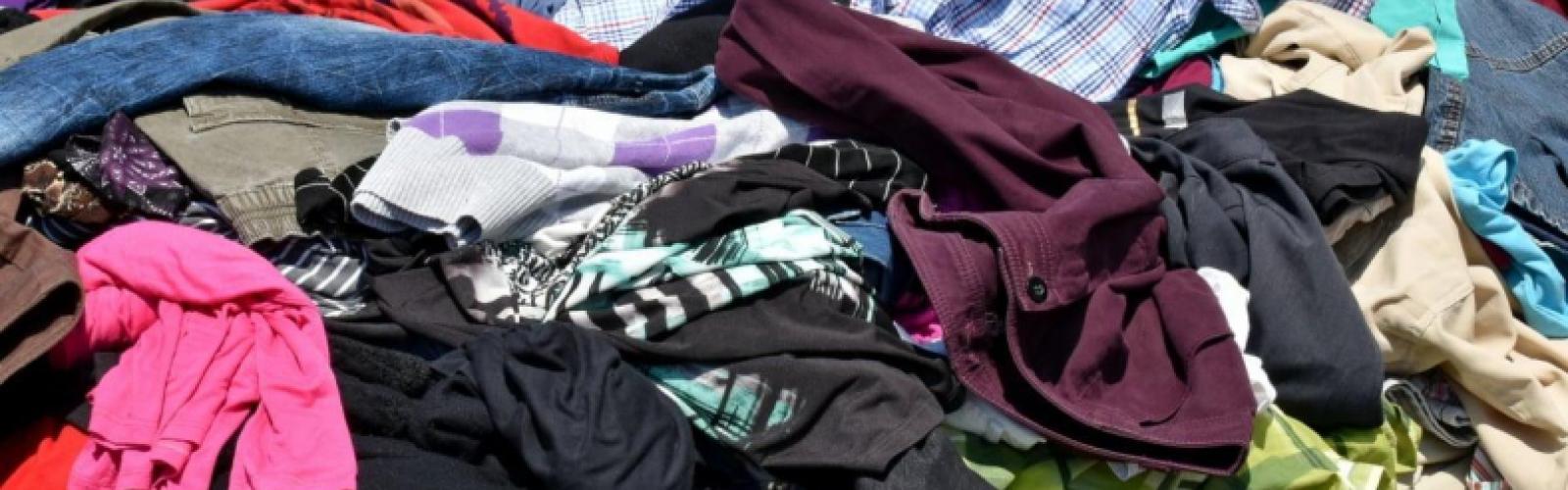 berg afgedankte kleding