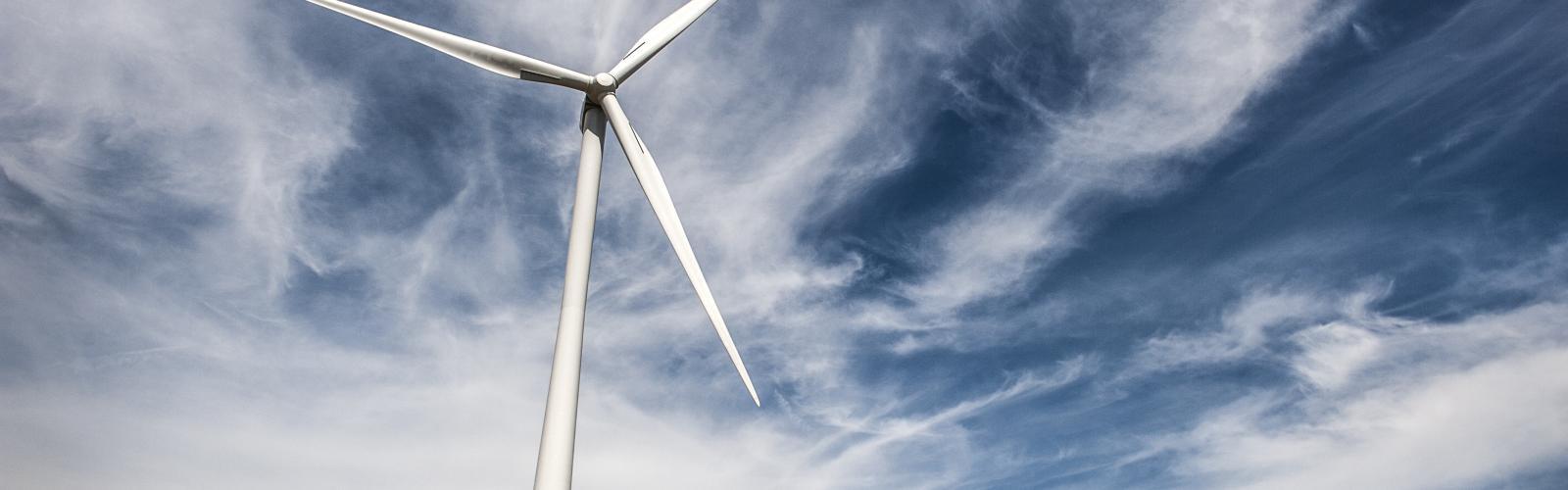 moderne windmolen