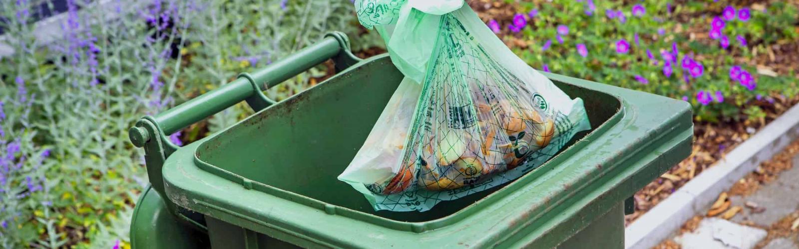 composteerbare afvalzak