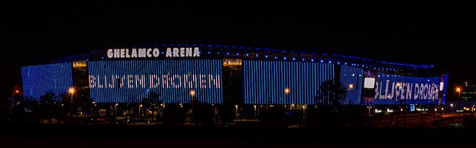Ghelamco Arena by night