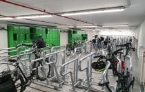 fietsenstalling Aeropolis