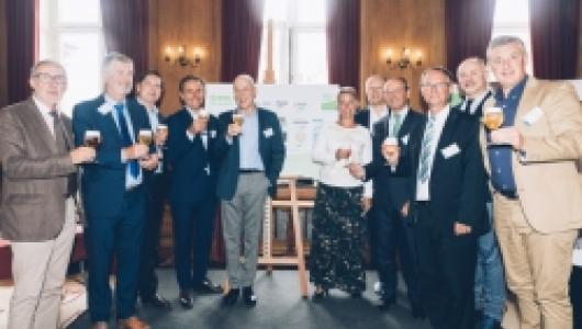 groepsfoto Green Deal Brouwers