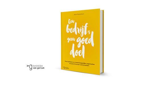 Cover boek een bedrijf is geen goed doel