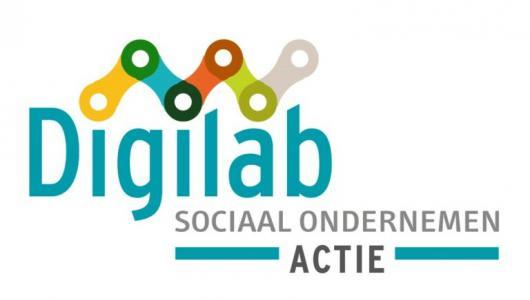 Campagnebeeld Digilab Sociaal Ondernemen