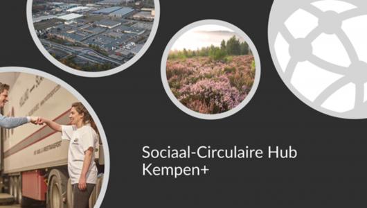 Beeld Sociaal-Circulaire Hub Kempen