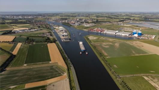 luchtfoto North Sea Port