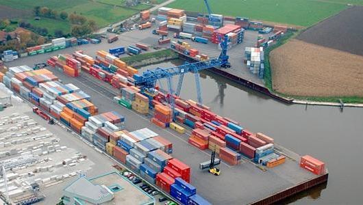 containers binnenvaart