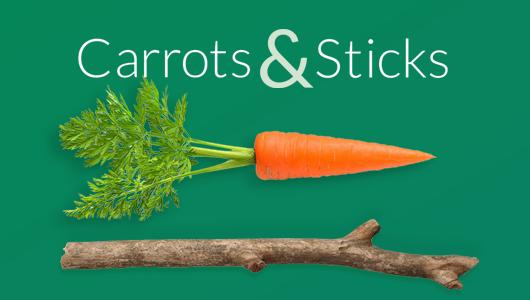 beeld Carrots & Sticks