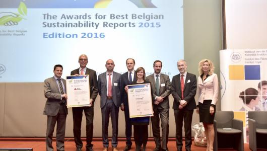 Winnaars Award Best Sustainability Report 2016