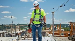 beeld bouwvakker veiligheidskledij Vandeputte