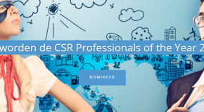 campagnebeeld CSR Professional of the Year 2016
