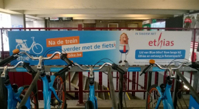 Ethias in het station