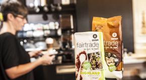 Koffiebar werkt met fairetradeprodukten