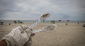 single use plastics (wegwerpbestek)