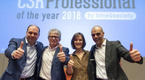 winnaars CSR Professional/CSR Pioneer  of the Year 2018