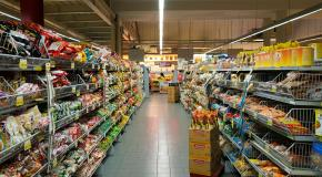 winkelrek met voeding