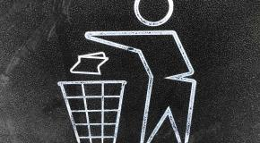 ikoon openbare vuilnisbak