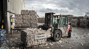 recycleren van afval
