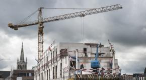 werf opbouw van een gebouw