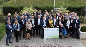 groepsfoto Green Deal Huishoudelijke Houtverwarming