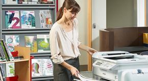 kantoor met printer