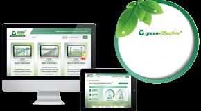 Startscherm green-Effective Performance Calculator
